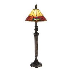 Dale Tiffany - Dale Tiffany TB13087 Groveland 1 Light Buffet Lamp - Features:
