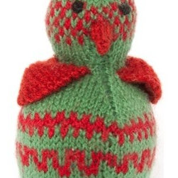 "Sitara Collections - Hand-Knitted Bird - A ""Tweet"" toy for a Special Boy or Girl in Your Life. this Easy-to-Hold Bird Makes a Cheery Companiom for Even the Youngest Children, with Natural Dyed Wool and Cottom That are Safe for Little Hands and Mouths. You'Ll Feel Good about Giving this Stuffed Cutie! amazingly soft Butter Fabric soft, Squishy Fill Machine washable Set includes: ome (1) Plush Bird Stuffed toy Materials: Dyed acrylic Wool, Polyester Fiber Fill Stuffing, Thread Embroidery Color: Multicolored Dimensioms: 7.50 inches High X 3.50 inches Wide X 3.50 inches Deep Weight: 0.65 Pounds."