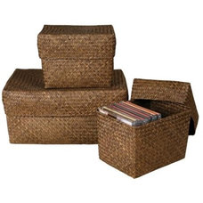 Tropical Storage Bins And Boxes by Lamps Plus