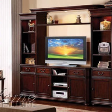 Transitional Entertainment Centers And Tv Stands by GreatFurnitureDeal