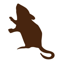 My Wonderful Walls - Mouse Stencil for Painting - - Mouse wall stencil
