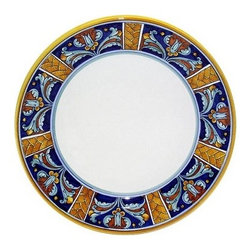 Artistica - Hand Made in Italy - EXCELSIOR: Charger Buffet Platter - EXCELSIOR Deruta Dinnerware: