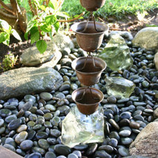 Rain chains and garden accessories - buy direct at discounted prices