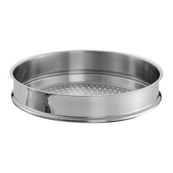 Cooks Standard - Cooks Standard Steamer Insert for Chef's Pan, 13-Inch/32cm, NC-00247 - What's in box? 13-inch diameter 32cm, steamer insert fit Chef's pan 32cm /13 inch perfectly. 18-10 stainless steel, with holes evenly on bottom to ensure perfect steam performance.