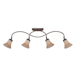 Quoizel Lighting - Quoizel Lighting ALZ1404PN Aliza 4 Light Track Light - For over seventy years, Quoizel lighting has been dedicated to the design and production of its diversified line of fine lighting products and home accessories.