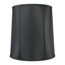 Home Concept - Black Shantung Drum Deluxe lamp shade 14x16x17 - Celebrate Your Home - Home Concept invites you to welcome your guests with our array of lampshade styles that will instantly upgrade your space