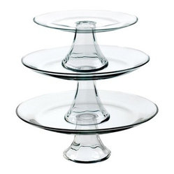Tiered Pedestal Serving Plates
