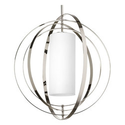 Thomasville Lighting - Thomasville Lighting P7086 Equinox 2 Light Foyer Pendant with Cylinder Shade - Features: