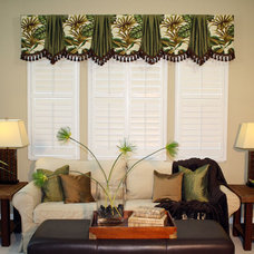 Traditional Curtains For a formal look
