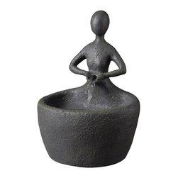 Kenroy - Kenroy 51007MSBZ Karma Tabletop Fountain - Kenroy 51007MSBZ Karma Tabletop Fountain