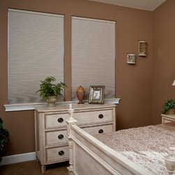 Simple Fit - Simple Fit Pop-In Cellular Shade: Blackout - Simple Fit Pop-In Cellular Shades are made to order for a custom fit, with convenient no-tools installation and cordless operation as a standard feature.