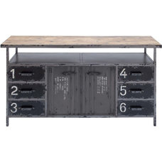 Traditional Storage Units And Cabinets by Modern Furniture Warehouse