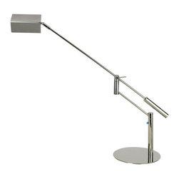 """Trend Lighting - TD2343 Slant LED Task Table Lamp - TD2343 """"Slant"""" LED Task Lamp"""