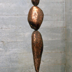 Rock Form 01 - Steel and Copper