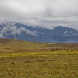 """""""Peru 1"""" Artwork - Landscape of Peru near Urabamba"""