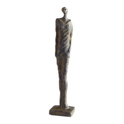 Cyan Design - Athena Female Sculpture - Athena female sculpture - rustic bronze.