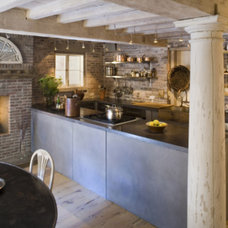 Rustic Kitchen by Payne/Bouchier, Inc.