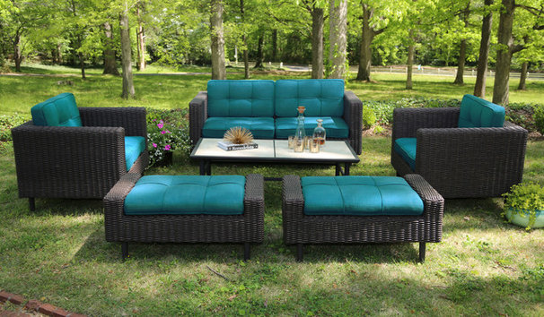 Midcentury Outdoor Sofas by AE Outdoor