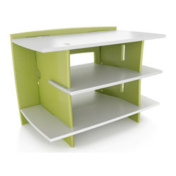 Kids Gaming Stand in Pistachio & Cream Finish