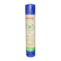 Aloha Bay Chakra Pillar Candle Abundance Indigo - 1 Candle - Aloha Bay Chakra Pillar Candle Abundance Indigo Description: