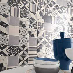 Twenties Series - Our Twenties series mixes old and new. With European encaustic-inspired patterns mixed in with mod midcentury looks, this eclectic mix of tile is sure to please all who see it.