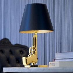 Flos - Bedside Gun Table Lamp | Flos - Design by Philippe Starck, 2005.