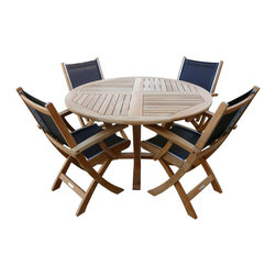 Douglas Nance, Kingsley Bate - St. Tropez Dining Set - St. Tropez four seat dining set includes: