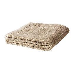 ÅFJÄRDEN Bath towel - Bath towel, dark beige