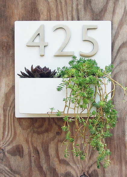 Contemporary House Numbers by Etsy