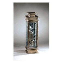 Northeast Lantern - Empire Dark Antique Brass One-Light Outdoor Wall Light with Clear Seedy Glass an - -Clear Seedy Glass  -Antique Mirror  -Northeast Lantern offers a distinctive collection of early American and Colonial reproduction lighting that is hand crafted in New Hampshire for a lifetime of beauty.  -The fixtures are made of solid brass and copper. They  are cut, fitted, soldered, finished, and wired by hand in New Hampshire. Northeast Lantern - 8931-DAB-LT1-CSG-AM