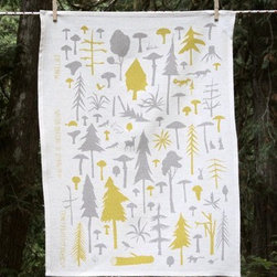 Makelike Wilderness Experience Tea Towel - The Wilderness Experience Tea Towel by Makelike comes from a true passion for pattern!