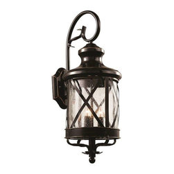 Trans Globe Lighting - Trans Globe Lighting 5121 ROB Outdoor Wall Light In Rubbed Oil Bronze - Part Number: 5121 ROB