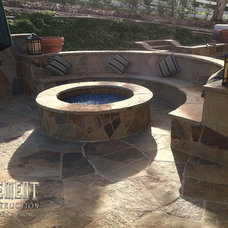 Firepits by Element Construction Masonry & Paving