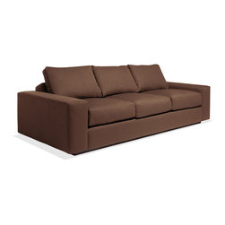 TrueModern - Jackson Standard Sofa - The Jackson Standard sofa is our comfiest sofa yet! The oversized seat, arms and pillows make it the ultimate lounger, but the clean design still keeps it modern and hip. The seat cushions are wrapped in down and the back pillows are stuffed with luxurious blend of feather and down as well.