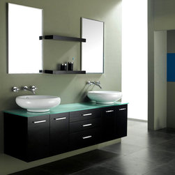 Tempered Glass Vanity Tops For A Striking Modern Bathroom - Tempered Glass Vanity Tops For A Striking Modern Bathroom - http://www.homethangs.com/blog/2014/02/tempered-glass-vanity-tops-for-a-striking-modern-bathroom/