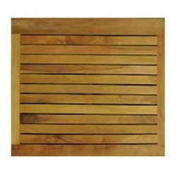 Anderson Teak Square Shower Mat It Is Perfect