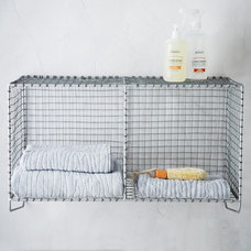 Industrial Display And Wall Shelves  by West Elm