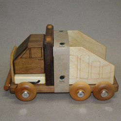 Wooden truck Meccano-toy