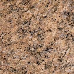 "Giallo Veneziano Polished Granite Floor Tile 12"" x 12"" - Lot of 250 Tiles - 12"" x 12"" Giallo Veneziano Solid Polished Finish Square Pattern Granite Floor Tile features a black / yellow color to accent many home interiors. This beautiful granite tile features a smooth, high-sheen finish and a random variation in tone to help add style to your decor along with your bathroom vanity. Designed for floor, wall and countertop use, this granite tile is marginally skid resistant to suit your needs. Simply gorgeous tile."