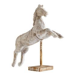 Cyan Design - Caliope Sculpture - Caliope sculpture - antique white.