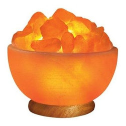 WBM Himalayan - Novelty Lamps: Ionic Crystal Hand Carved Salt Bowl Lamp (7-9lbs) 1326 - Shop for Lighting & Fans at The Home Depot. This lamp is almost maintenance free and is very easy to clean. Just wipe off the outside surface with a damp sponge and dry off with a paper towel. Do the same for the chuncks. You can change the color of the bulb to give a different hue to the lighting area. You can keep the lamp lit for as long as you like and the longer you keep it on, the better the emission of negative ions. Place this lamp in your child's room and watch him fall asleep with gentle ease or put it next to your computer and feel your stress dissipate as the negative ions counteract the electromagnetic fields bouncing off the computer. You can put it in your TV room, or your office. It really doesn't matter which room you choose, it is totally up to you where you want to place this unique gift of nature. Item#1326 Comes with 15-Watt Bulb, on/off switch and 6 1/2ft electric cord UL listed (complete lamp) Weight: approx:6-8 lbs Dimensions: approx:7 in. x7 in. x6.5 in. No two are alike, due to the nature of rock color, size, weight may vary. Disclaimer the statements enclosed herein has not been evaluated by the Food and Drug Administration. The products mentioned on this site are not intended to diagnose, treat, cure, or prevent any disease. Information and statements made are for education purposes and are not intended to replace the advice of your family doctor.