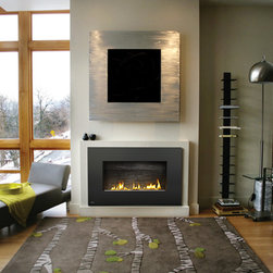 Napoleon Plazmafire WHD31 Series 49'' x 30'' DV Gas Fireplace System - A modern gas fireplace that hangs on your wall. Ideal for modern and contemporary rooms, Napoleon's WHD31 Plazmafire™ Direct Vent Gas Fireplace features easy installation plus all of the conveniences of a gas fireplace. Virtually endless installation possibilities, it's almost as easy as hanging a picture on the wall.