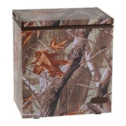 "Avanti - 5.2 CF Chest Freezer w/Camouflage Wrapped Exterior - Dimensions: 30 1/2""W  x 22 1/4""D  x 32 3/4"" H"