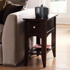 Riverside Cosmopolitan Chairside Table - End Tables at Hayneedle