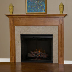 Appalachian Wood Fireplace Mantel - Scratch and dent resistant, the Appalachian Wood Fireplace Mantel is available in custom sizing.