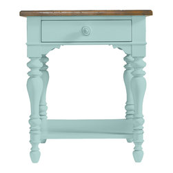 Stanley Furniture - Coastal Living Cottage Lamp Table - Years ago, this single-shelf charmer might have been known as a telephone table. Today, it brings a functional smile to any spot. Made to order in America.