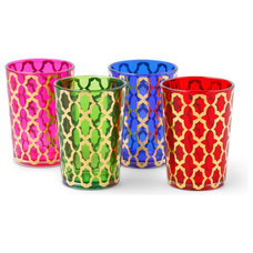 Mediterranean Candles And Candle Holders by C. Wonder