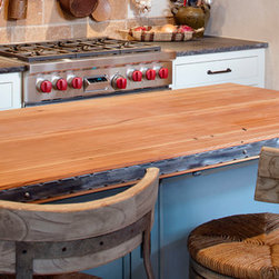 The Olde Mill Butcher Block Counter Tops - Chipper Hatter