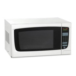 Avanti - 1.4CF 1000 W Microwave WH Oven Broiler - Avanti MO1450TW 1.4 Cubic Foot Electronic Microwave with Touch Pad.
