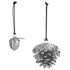 by nord - Accessories - Pine Cone big & acorn Silver
